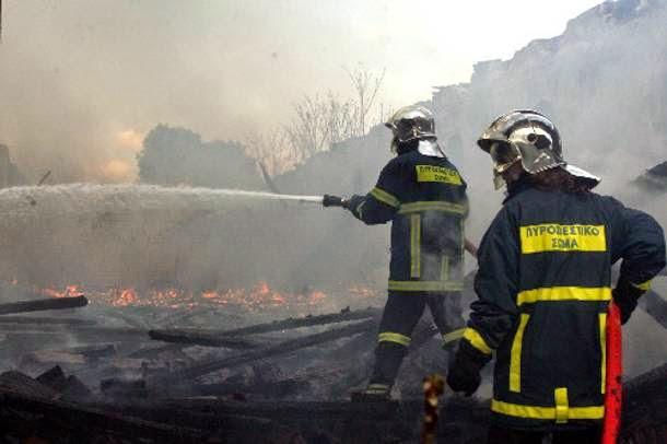 Η έγκαιρη επέμβαση των πυροσβεστών γλίτωσε τα χειρότερα