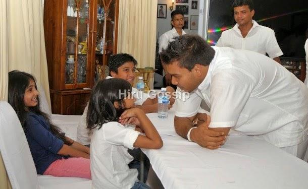 Namal Rajapaksa With Upeksha