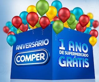 """Promoção """"Aniversário Comper"""""""
