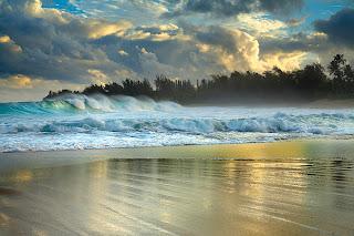 sakin deniz hafif dalgalı masaüstüresmi