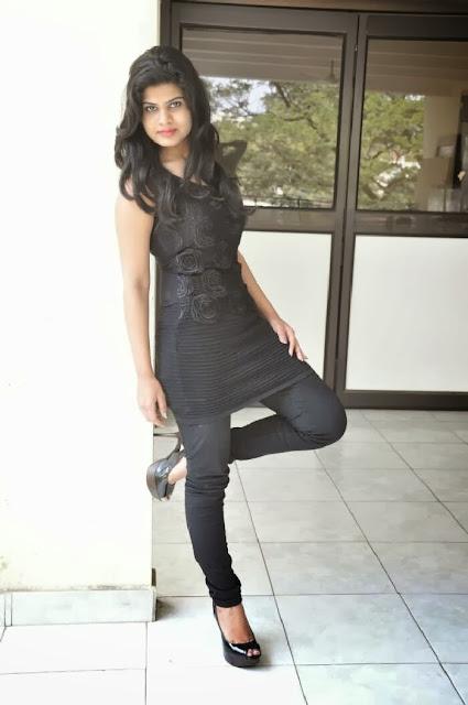 Alekhya Photo Gallery in Jeans