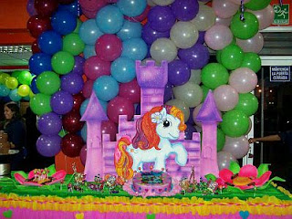 Little Pony Kids Party Decoration