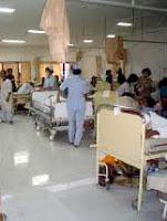 suara suara di sebuah rumah sakit
