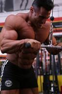 Ahmad Haidar Biceps Workout