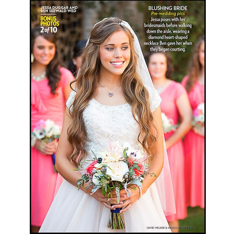 The duggar family blog ben and jessa 39 s wedding party for Jessa duggar wedding dress