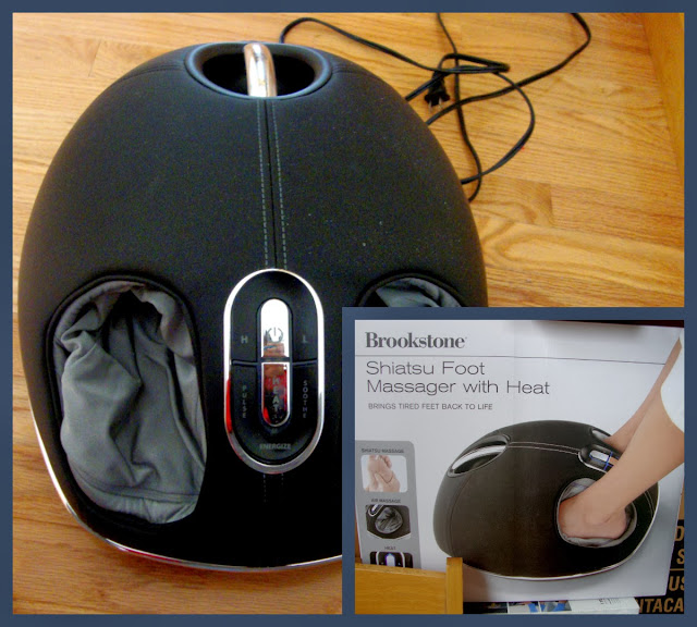 Brookstone Shiatsu Foot Massager With Heat