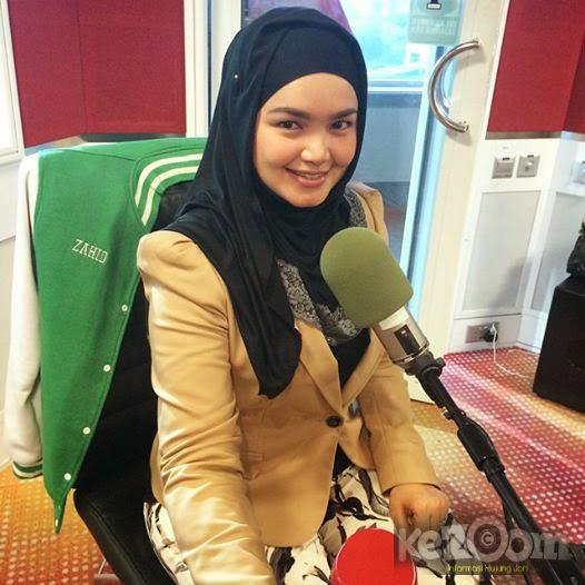 Gambar Amy Search & Siti Nurhaliza Di Konti ERA FM