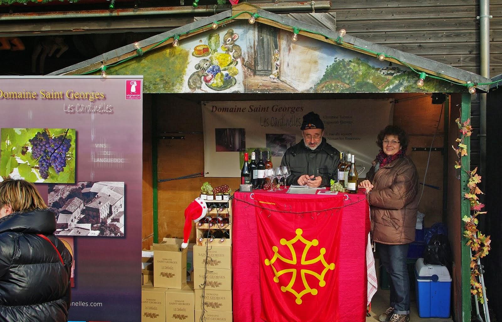 JANY et PHILIPPE ,PROFS ET VITICULTEURS ,seront bientôt au marché de Noël de Gif sur Yvette