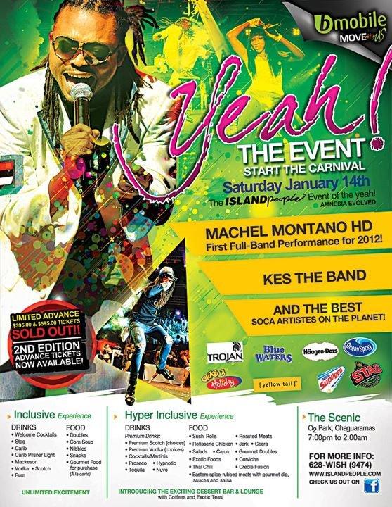 Trinidad Carnival Diary: Dec 31, 2011