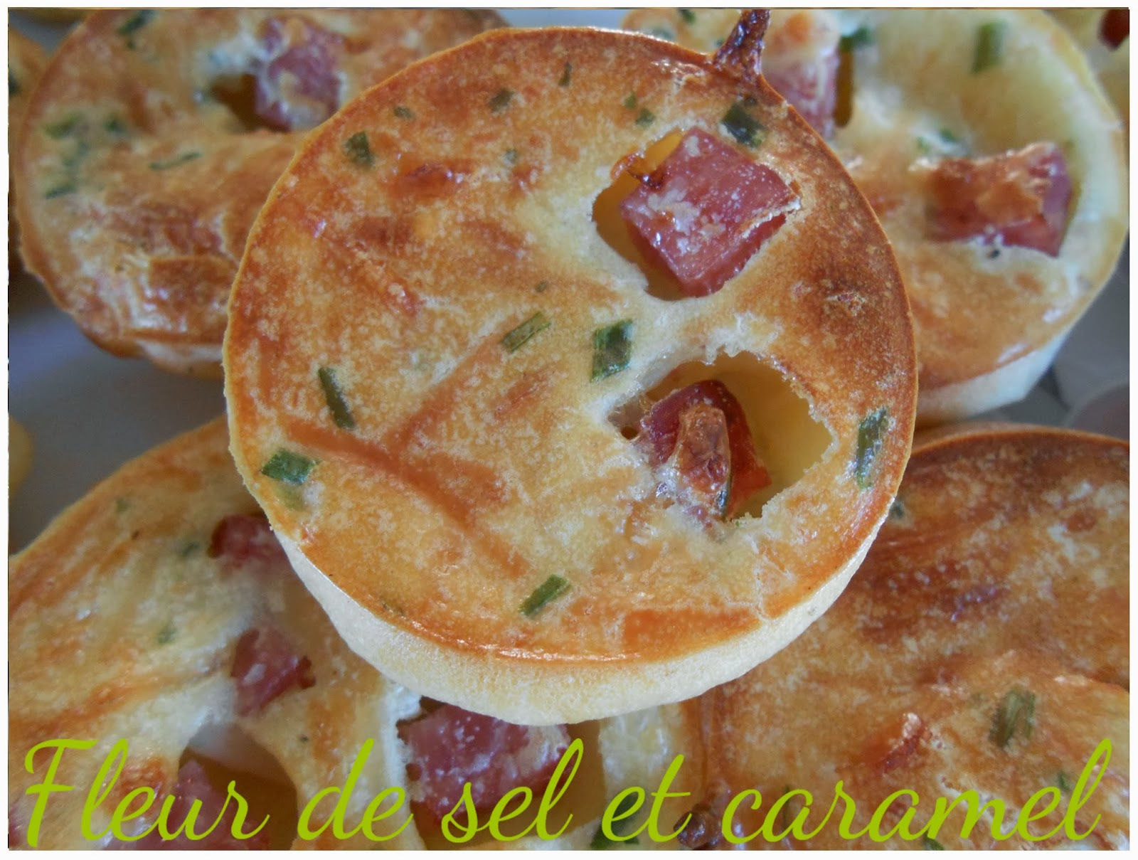 Clafoutis jambon fromage
