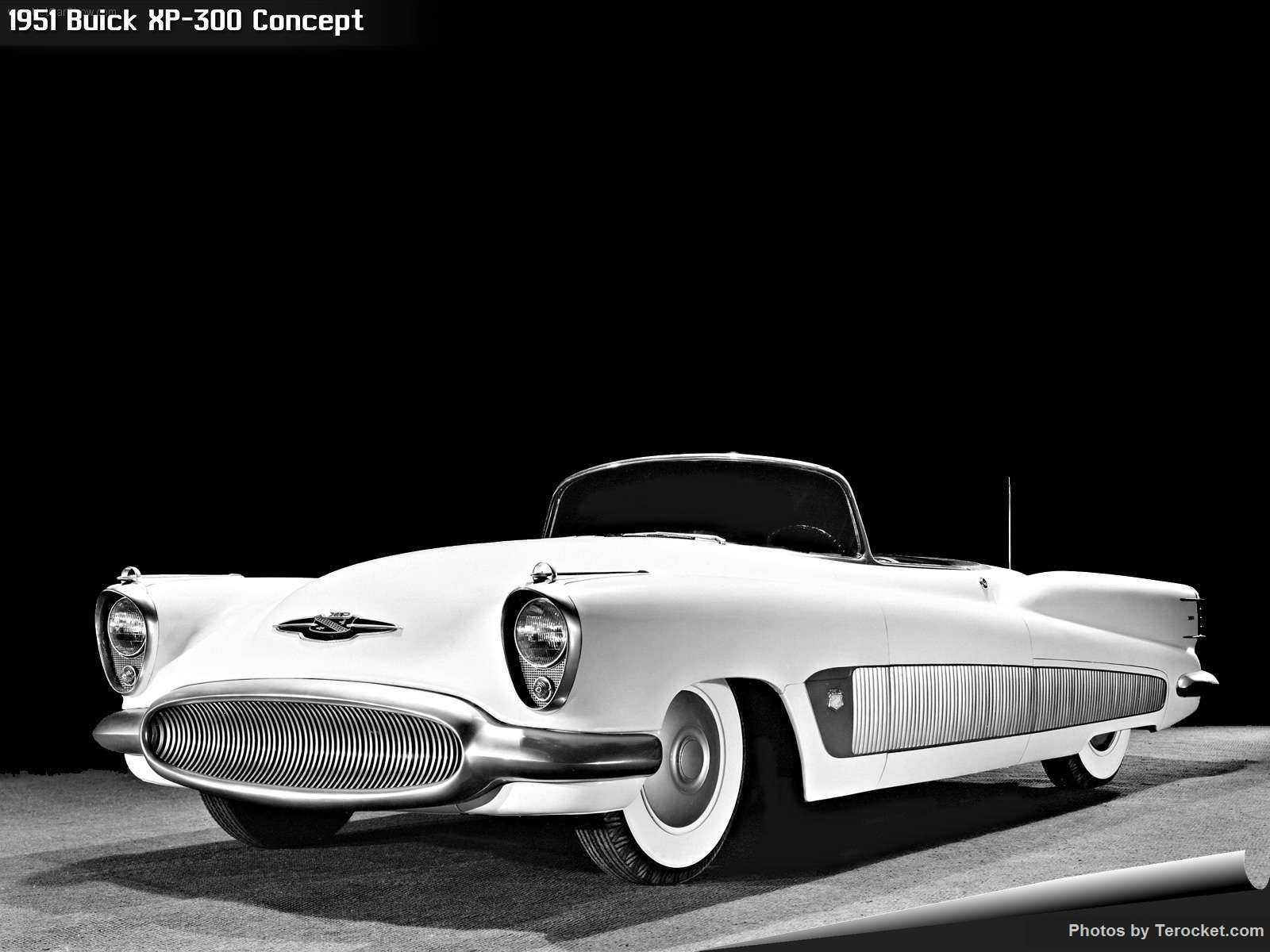Hình ảnh xe ô tô Buick XP-300 Concept 1951 & nội ngoại thất