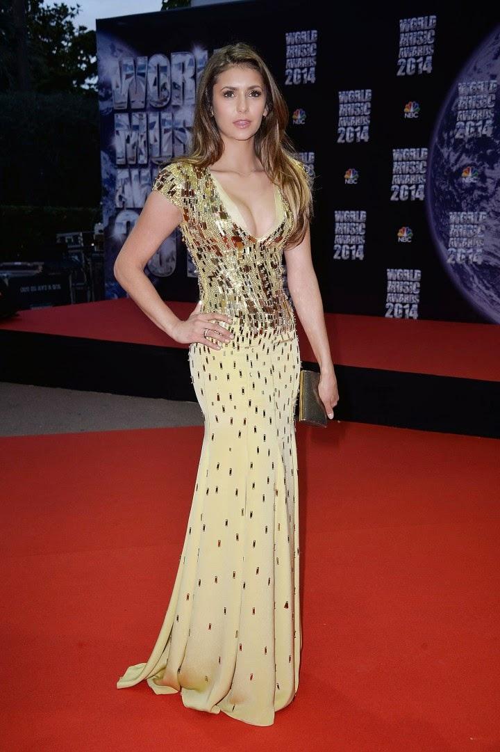 Nina Dobrev Dresses 2014 Nina Dobrev Flaunts Cl...
