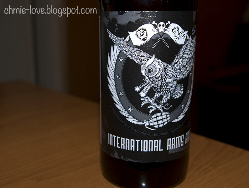 international arms race, zero ibu india pale ale, brew dog