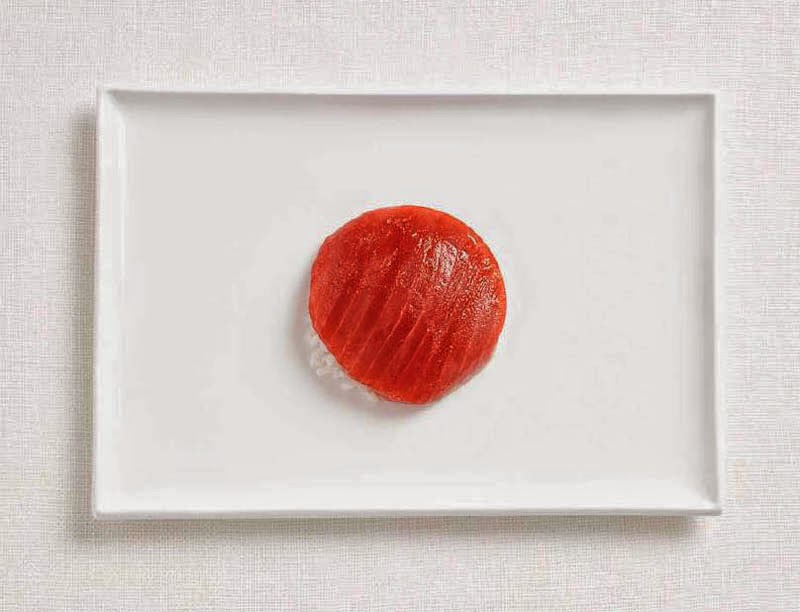 18 National Flags Made From Food - Japan