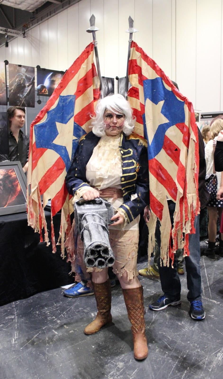 Bioshock Infinite Cosplay Patriot Random Nerdery: MCM Co...