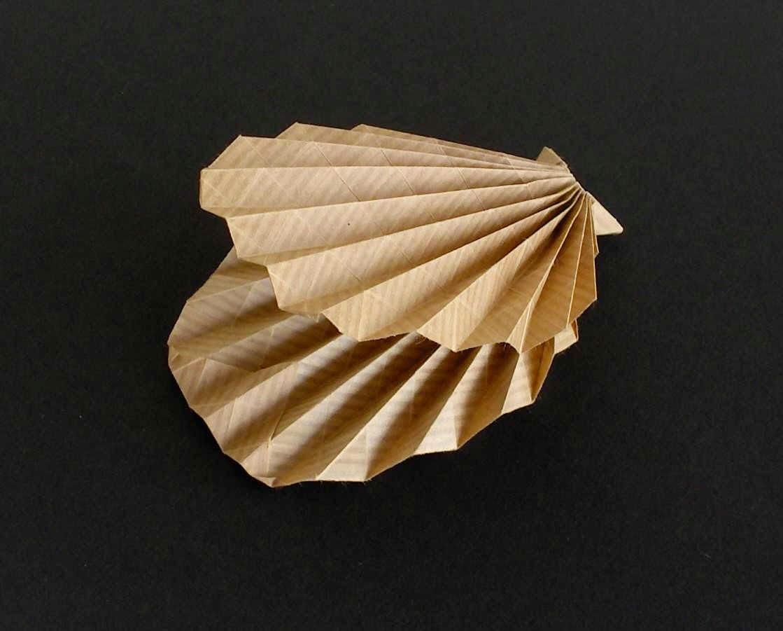Make A Origami Clam
