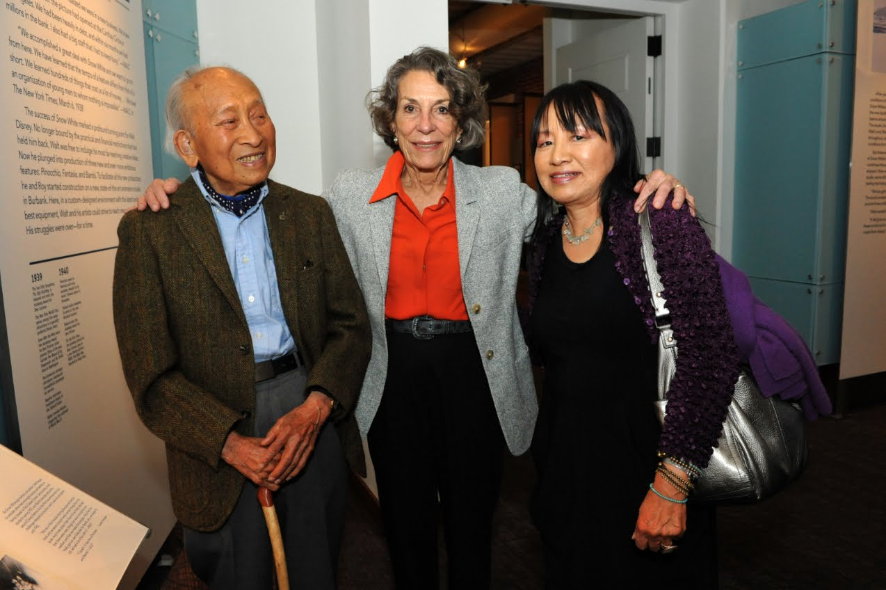 Moving Animation Backgrounds Tyrus Wong At The Walt Disney Family