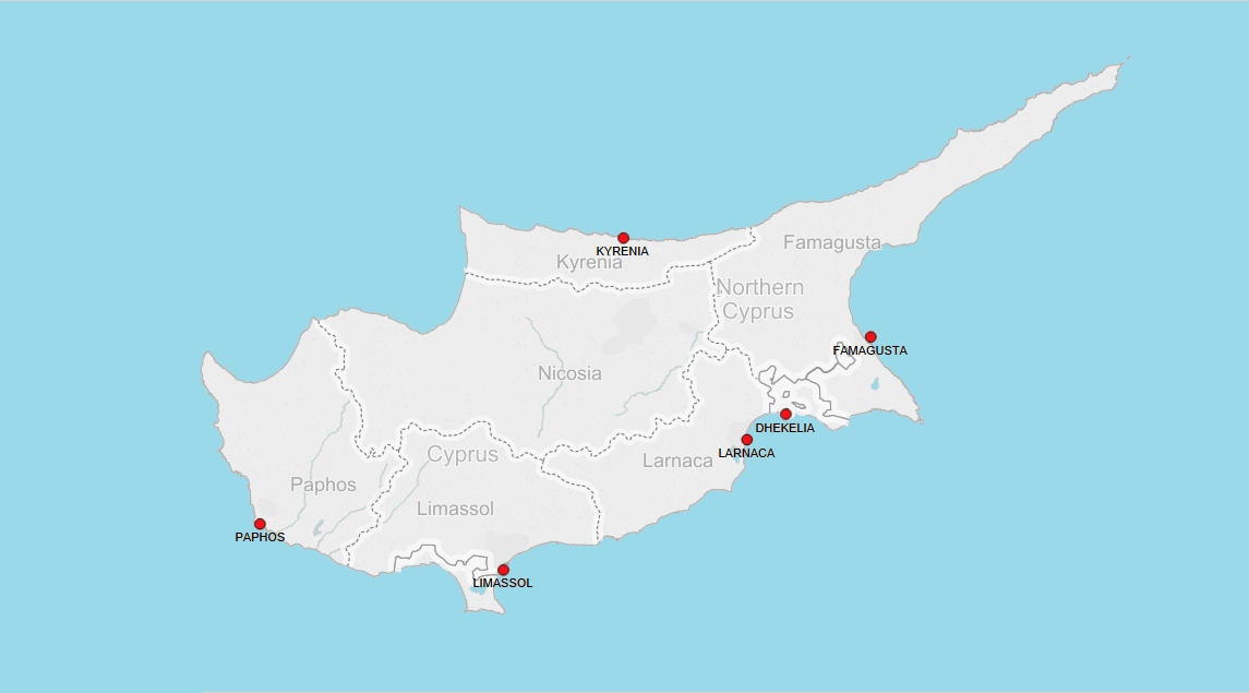 PORTS IN CYPRUS