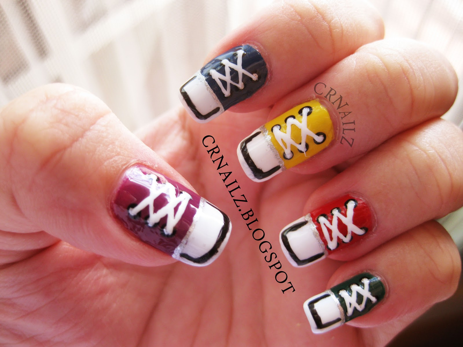 The Cool Cool white easy to do nail designs Digital Photography
