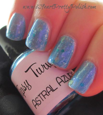 tipsy turvy nails astral azure
