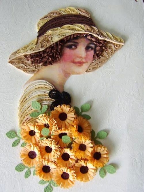 17-Eugenia-Evseeva-Quilling-Paper-&-Photo-Portraits-www-designstack-co
