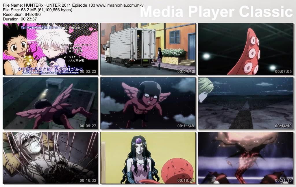 """Download Film / Anime Hunter x Hunter 2011 Episode 133 """"Batas Waktu Untuk Hidup"""" Bahasa Indonesia"""
