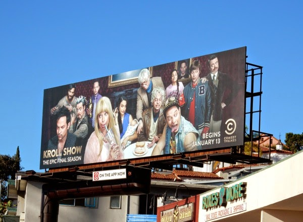 Kroll Show final season billboard