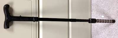 Stun cane discovered at CLE. 