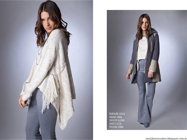 Pantalones oxford La Cofradía otoño invierno 2016. Moda invierno 2016.