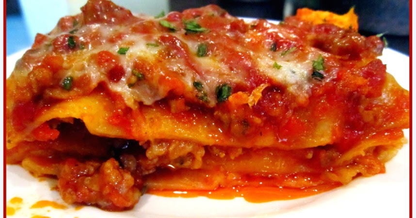 how to make lasagna recipe without oven