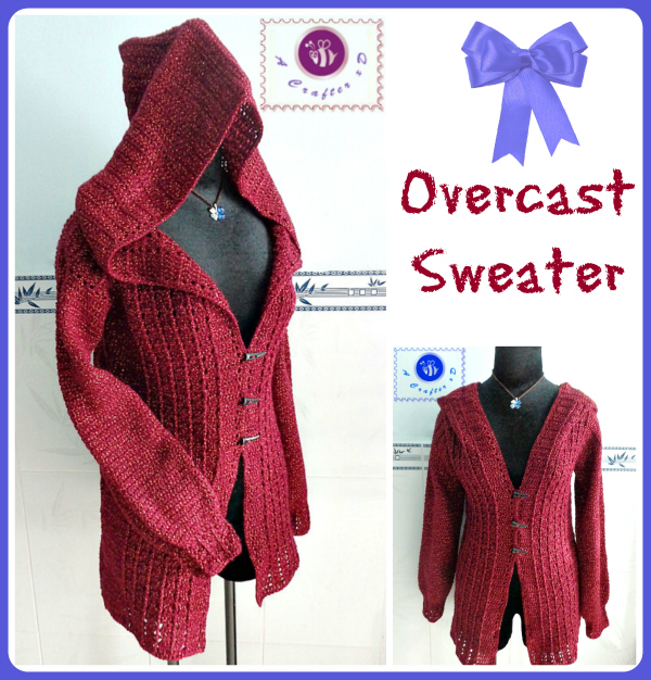 Overcast Sweater Free Crochet Pattern