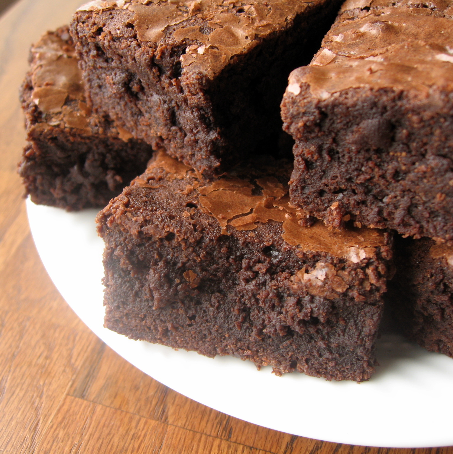 the nonpareil baker: Triple Chocolate Fudge Brownies
