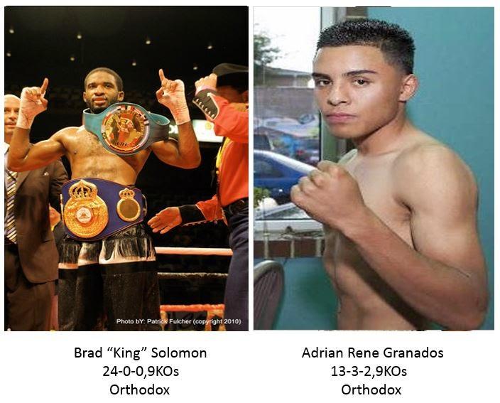 Pacquiao-Mayweather Brad Solomon vs. Adrian Granados