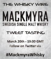 Mackmyra Tweet Tasting