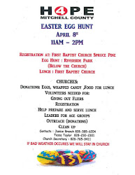 Upcoming Event Easter Egg Hunt