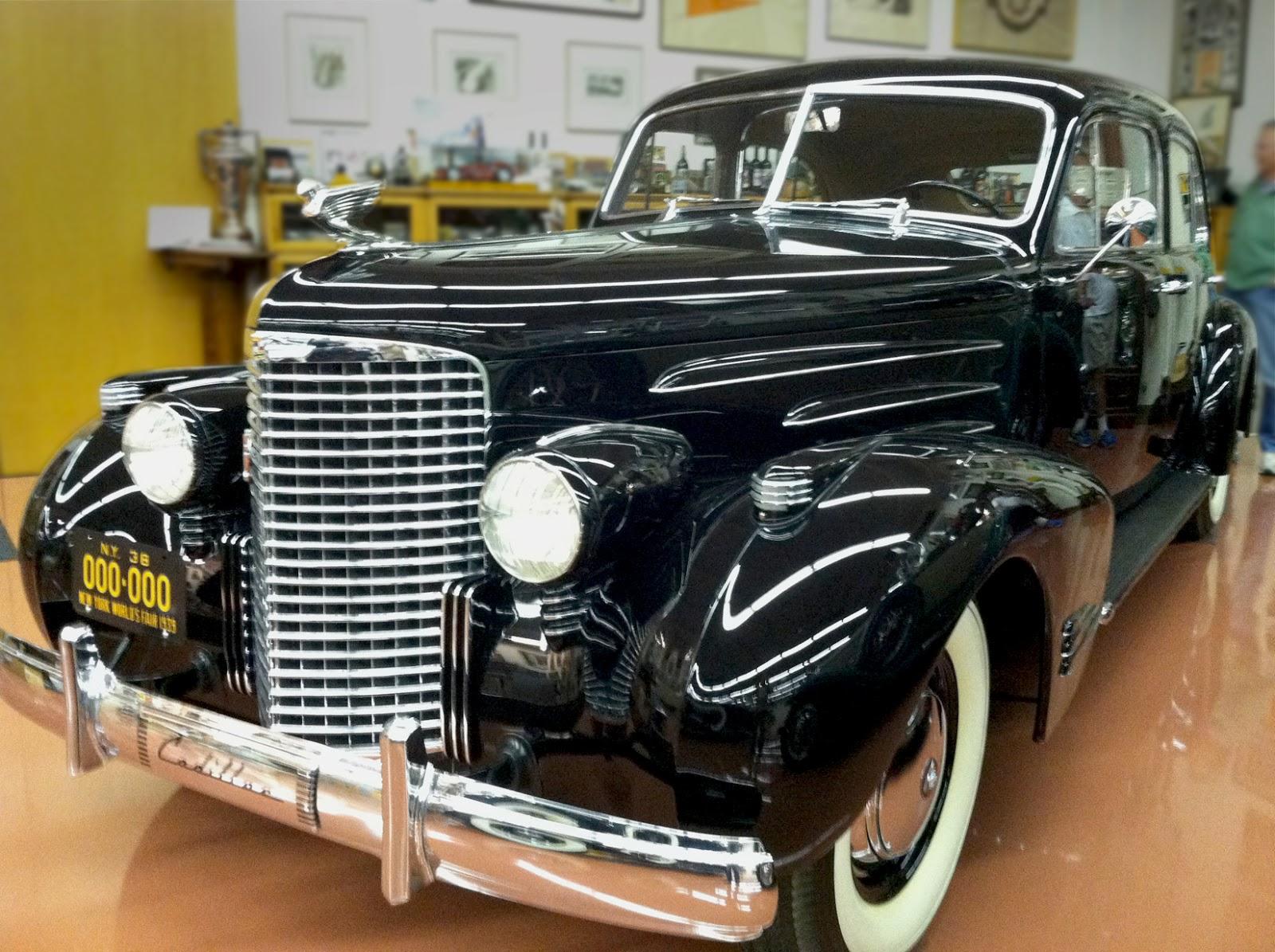 1938 cadillac v16 engine