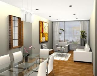 Decoracion de sala comedor for Como decorar comedor y sala