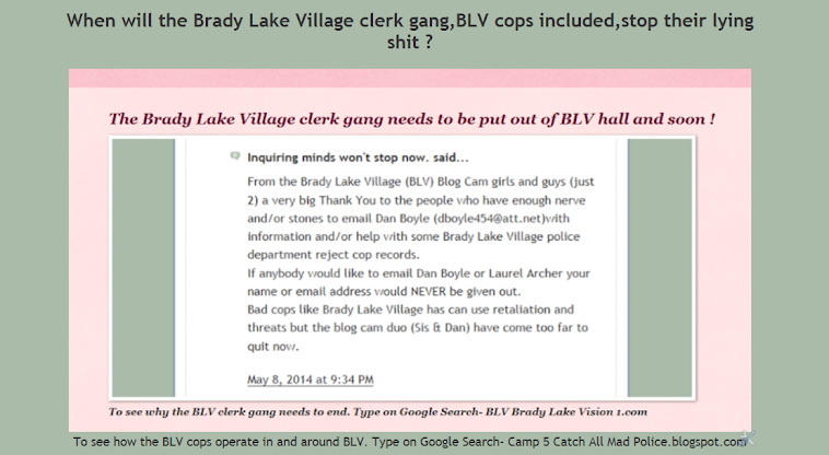 Brady Lake Village still needs to go back to Franklin Township.