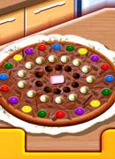 Шоколадная пицца - Онлайн игра для девочек