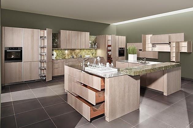 Modernas cocinas en colores neutros colores en casa for Colores cocinas modernas