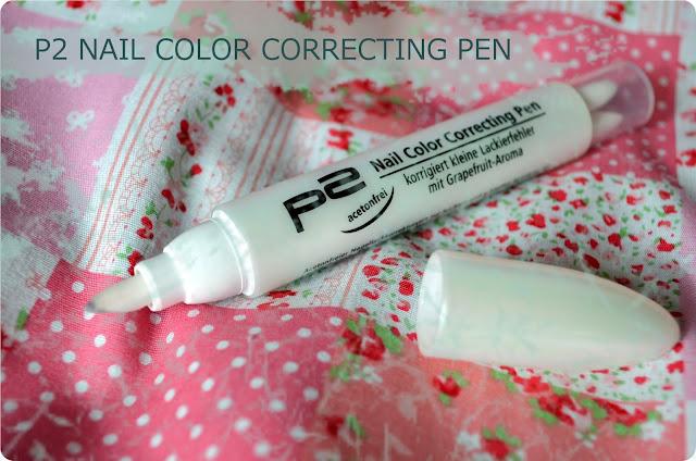 Meine Top 3 Nachkaufprodukte - p2 Nail Color Correcting Pen