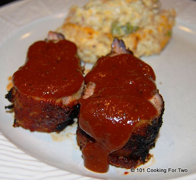The Best Grilled Pork Tenderloin - Memphis Style from 101 Cooking For Two