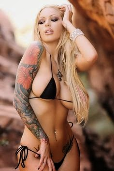 Hot Tattoo | Megan Daniels | More sexy women