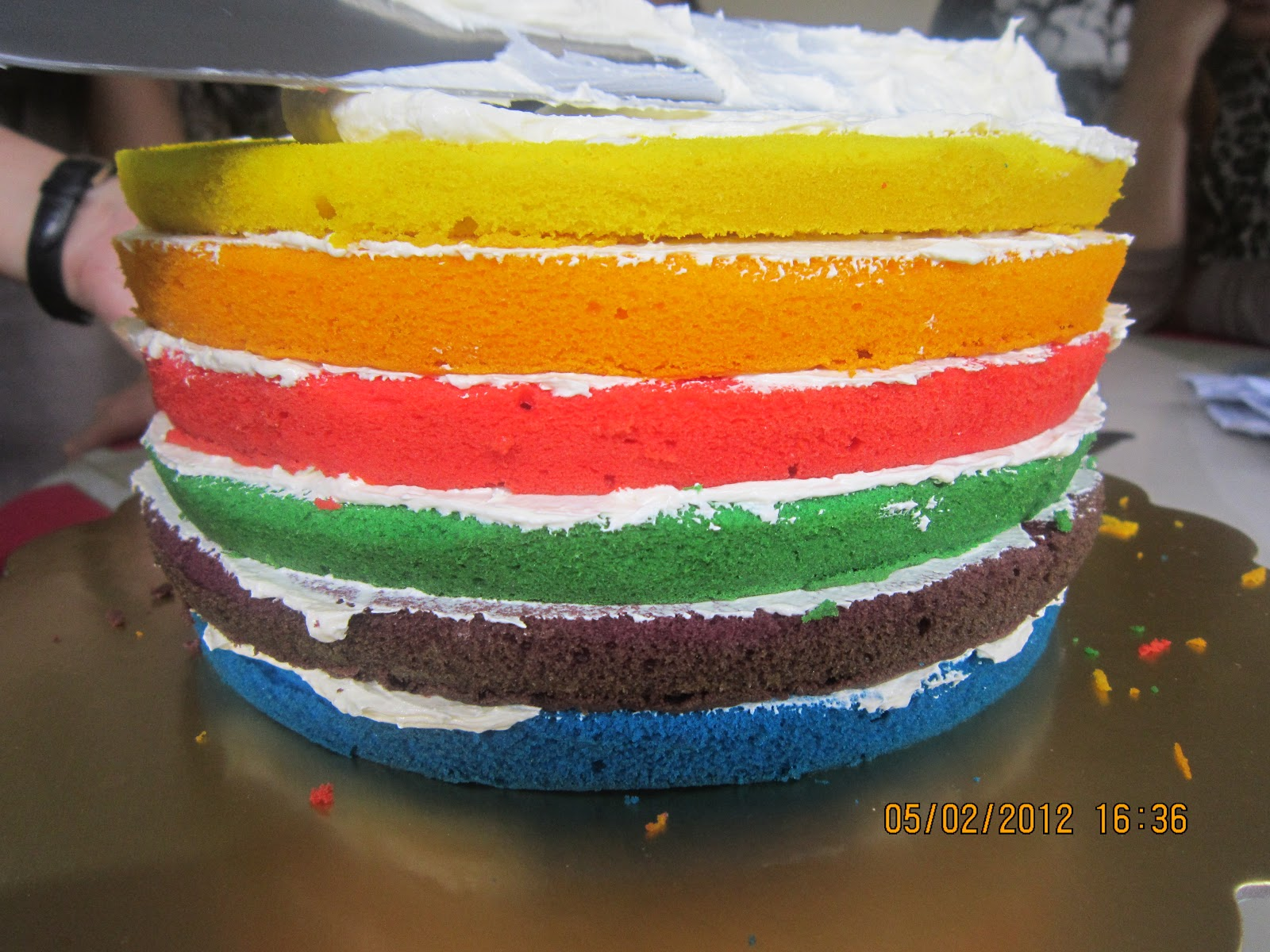 PROMOTION - MINI RAINBOW CAKE- RM50 (Basic Deco only)