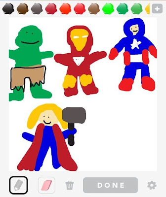 Avengers, Draw Something