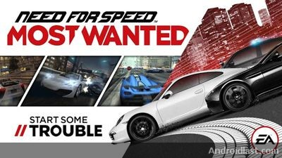 Nfs most wanted android apk data for Nfs most wanted android