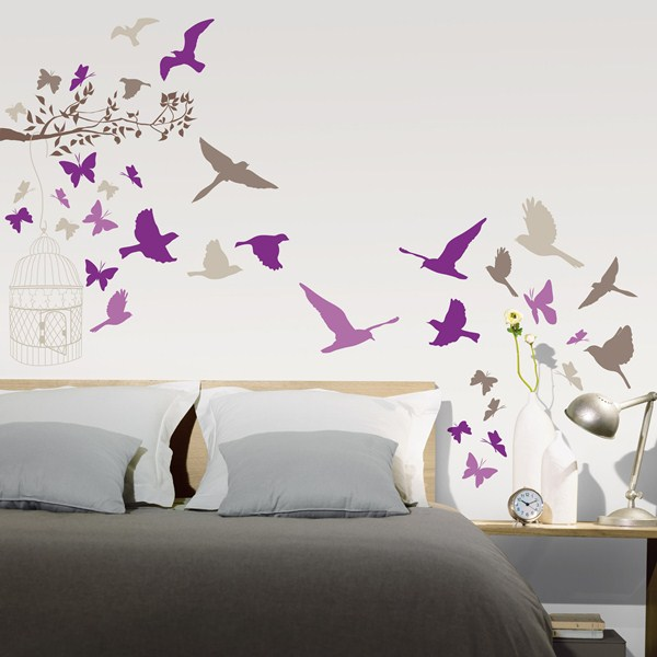 papel pintado stickers decorativos trendy caselio