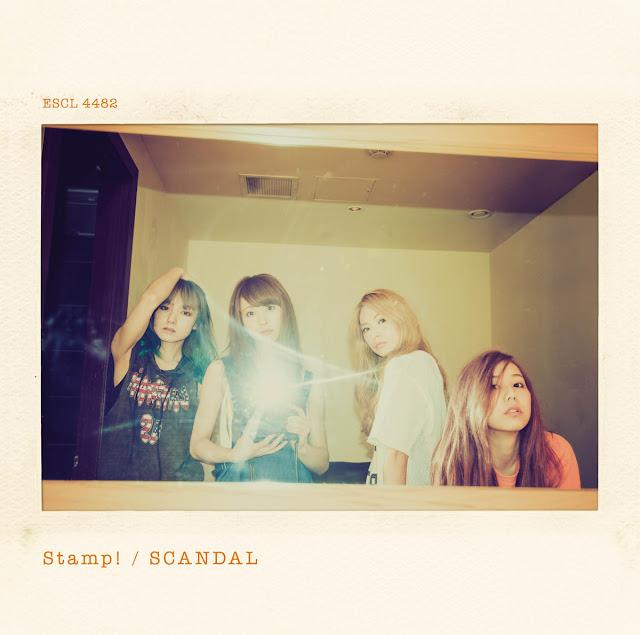 SCANDAL Stamp! 歌詞 lyrics ジャケット Cover