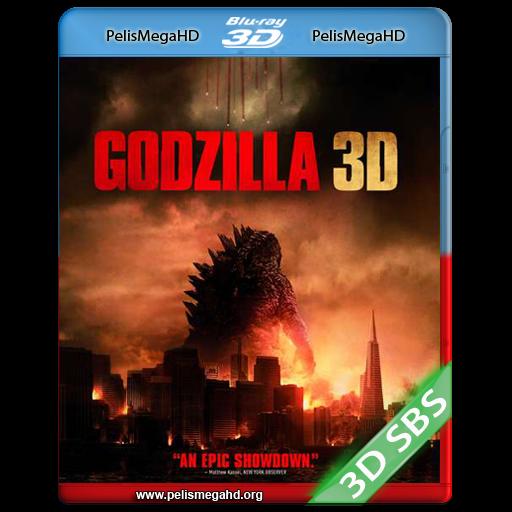 GODZILLA (2014) FULL 3D SBS 1080P HD MKV ESPAÑOL LATINO
