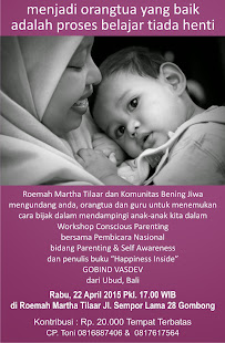 Workshop Conscious Parenting